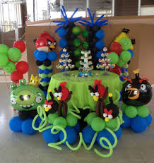 balloons deco by me globos angry birds bird and