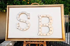 diy marquee letters how does she
