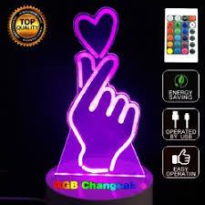 Neon Desk Lamp 3d Desk Lamp Cheap Online Sale Gamiss Com