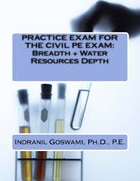 practice exam for the civil pe exam breadth water resources
