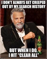 Search History Meme - i m a weirdo imgflip