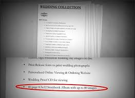 Where To Buy Wedding Albums The Importance Of Contracts Wedding Photog In A Dispute Over