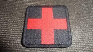 Surplus Militaire Reims by Opex Patch Croix Rouge Auxsan Tic