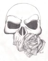 skull and rose tattoo design by infinityrokk lp tattoo photo