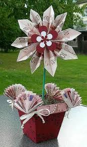 hochzeitsgeschenke selber machen geld geld liebevoll verpacken geld topf mitbringsel