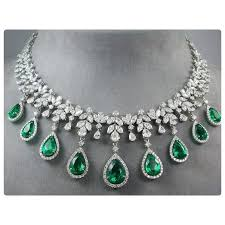emerald earrings necklace images 57 emerald diamond necklaces magnificent important diamond jpg