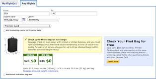 united airlines international baggage allowance united changes star gold baggage allowance one mile at a time
