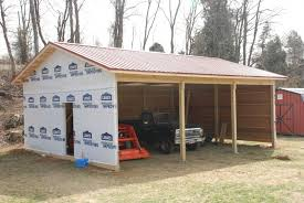 Detached Garage Design Ideas Pole Barn Garage Designs Garage With Loft Plans Build Garage