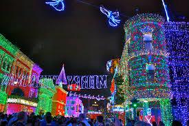 disney world christmas lights mouzing around the osborne lights at