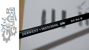 derwent sketching watersoluble pencil youtube