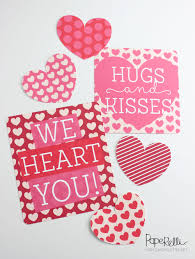 fun valentines day printables classy clutter