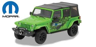 2014 green jeep wrangler 2014 jeep wrangler unlimited mopar edition 1 43 scale diecast