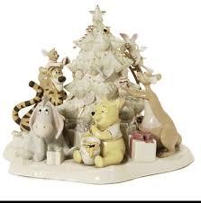 lenox disney figurines lenox classics pooh s tree trimming