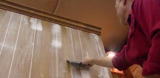 Mobile Home Interior Paneling How To Fill Grooves In Paneling Before Painting Today U0027s Homeowner