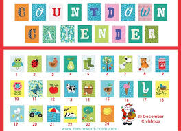 countdown calendar holiday 2 website