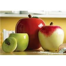 apple kitchen canisters 97 best apple kitchen decor images on apple kitchen
