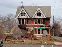 houses in detroit demolished with money intended to save them