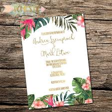 tropical wedding invitations destination wedding invitation tropical wedding invitations