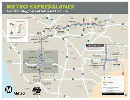 Map Of Metro by Metro And Caltrans Mark The Opening Of Metro Expresslanes Along 14