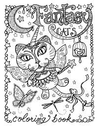 coloring books cat lovers