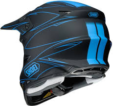 blue motocross gear 613 99 shoei vfx w hectic mx motocross offroad riding 1020547
