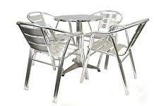 Aluminium Bistro Chairs Items In Be Furniture Ltd Shop On Ebay
