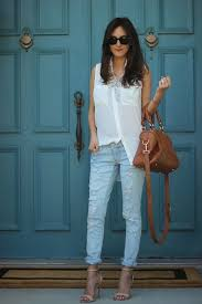Light Colored Jeans Top 20 Looks What To Wear With Ripped Jeans