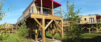 chambre sur pilotis cottage sur pilotis premium 2 chambres terrasse couverte