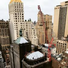 tallest freestanding tower crane in nyc history up at 111 west