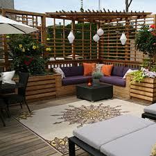 Outdoor Patio Privacy Ideas by Outdoor Privacy Screen Ideas For Decks Solidaria Garden