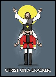 Jesus Crust Meme - christ on a cracker by jrace jeebus crust blasphemous humor