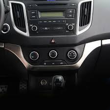 Hyundai Ix25 Interior Aliexpress Com Buy Vtear For Ix25 Hyundai Creta 2016 Stainless
