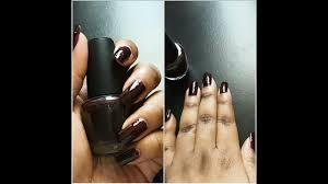 l a colors dark night nail polish youtube