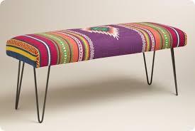 hairpin leg bench makeover
