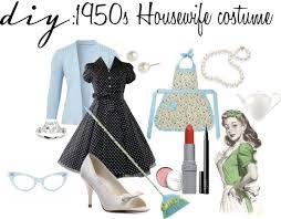 Halloween Costumes 1950s Diy 1950s Housewife Costume
