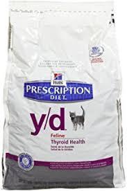 amazon com hill u0027s prescription diet y d feline thyroid health