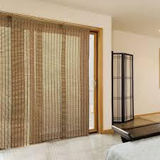 Patio Door Sliding Panels Patio Door Sliding Panel Shades From Bamboo Curtain