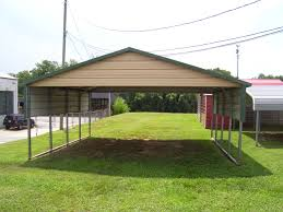 Garage With Carport Elk City Ok Steel Carports Metal Carports Elk City Oklahoma
