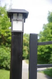 Solar Lights For Driveway by Repurposing Solar Lamps As Lights For Driveway Gate Posts