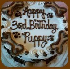 dog birthday cake dog cake 6 dog birthday cake w bones happy dog barkery