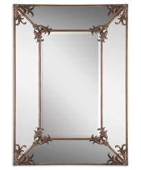 Uttermost Mirrors Free Shipping Uttermost 12806 Ansonia Wall Mirror Capitol Lighting 1