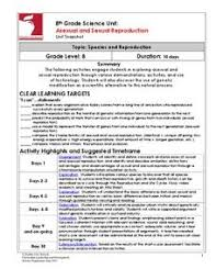 sexual reproduction lesson plans u0026 worksheets reviewed by teachers