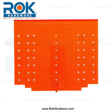 rok hardware knob and handle pull template for cabinet doors and