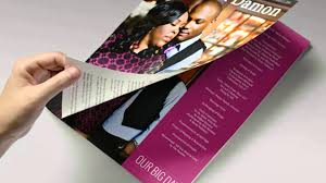 magazine wedding programs why choose the album factory magazine wedding programs