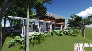download tropical modern house designs and floor plans adhome