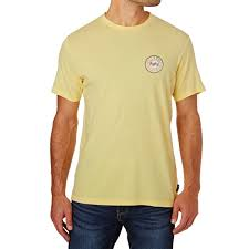 light yellow t shirt billabong flip wave t shirt pale yellow free uk delivery