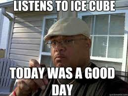 Ice Cube Meme - 20 today was a good day memes that are totally worth sharing