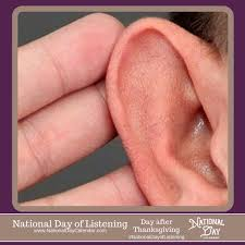 national day of listening day after thanksgiving national day