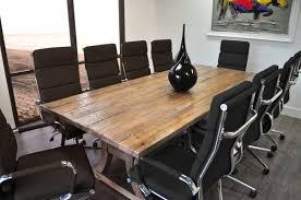 solispatio 11 piece ligna 8 u0027 rectangular conference table set