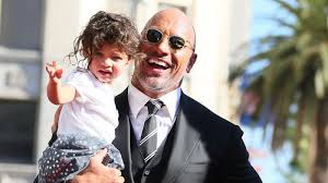 dwayne the rock johnson s adorable steals the